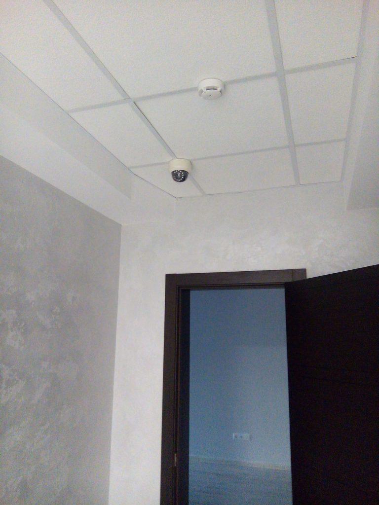 установка виденаблюдения в офисе
