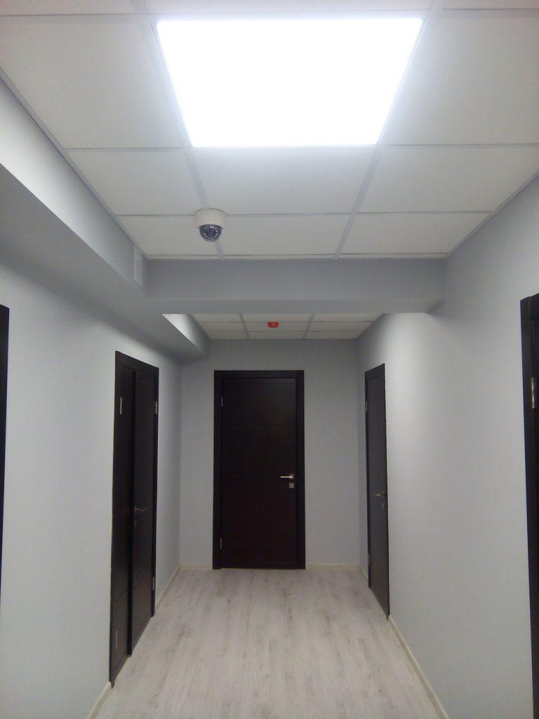установка виденаблюдения в офис
