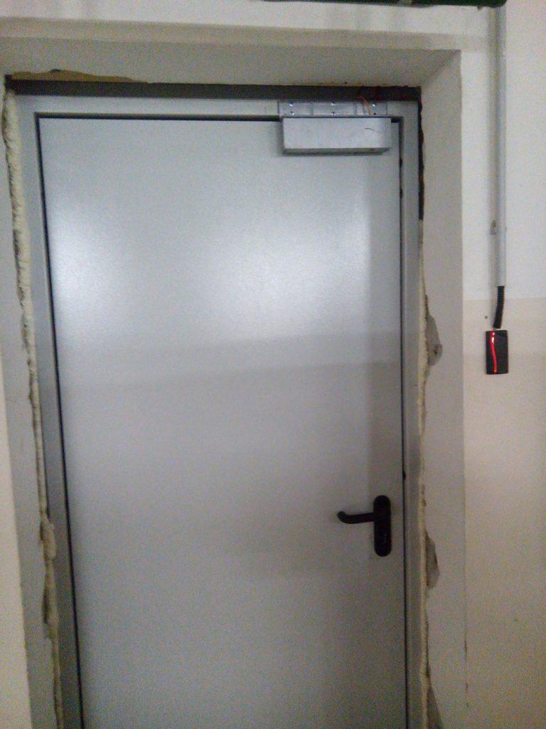 Установка контроля доступа Elsys1
