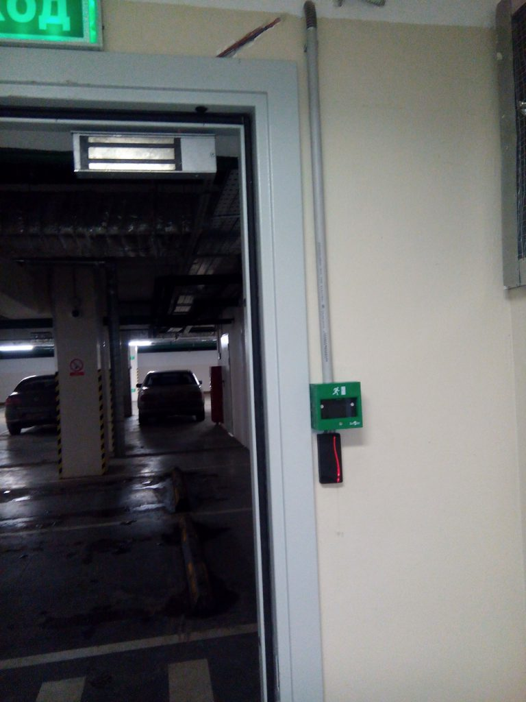 Установка контроля доступа Elsys3