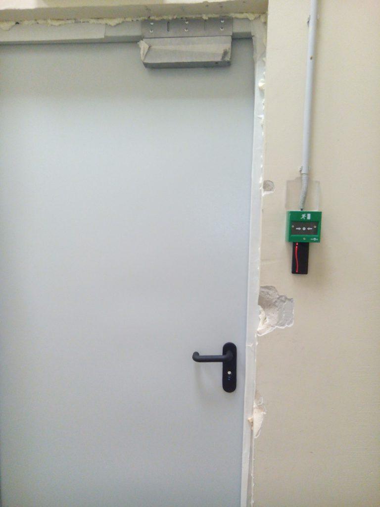 Установка контроля доступа Elsys6