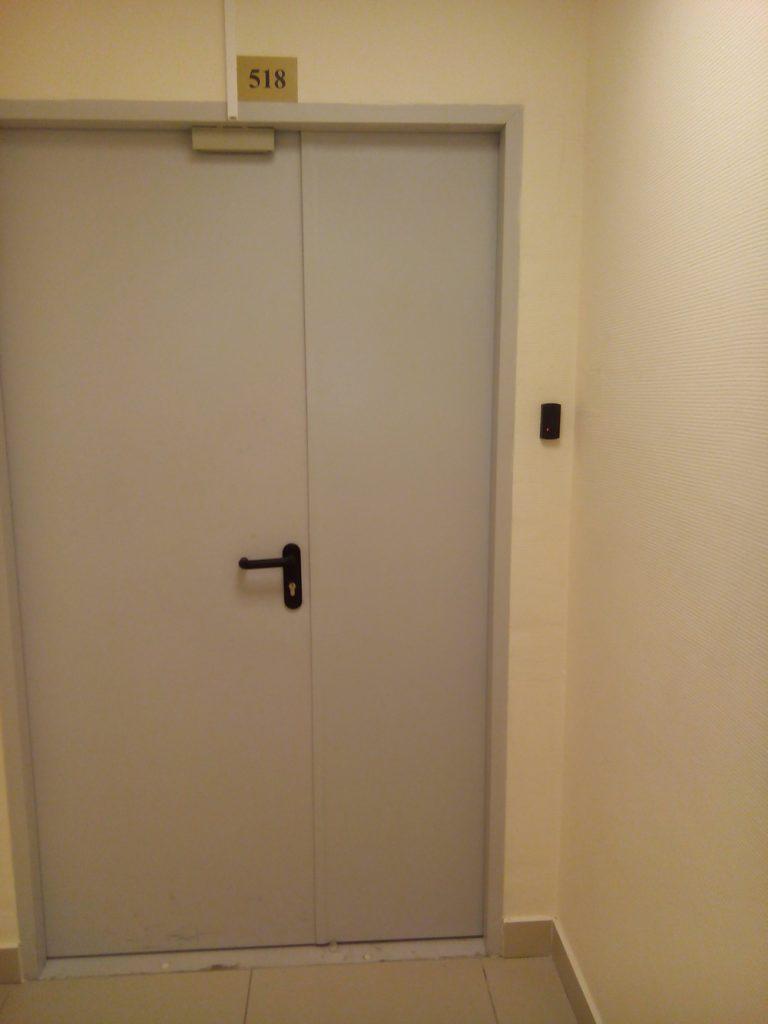 установка контроля доступа в офисе 5