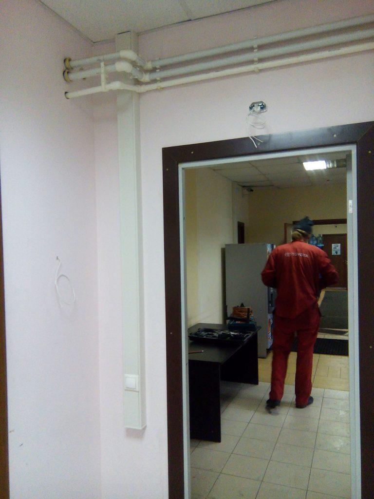 Установка охранной сигнализации в офисе2